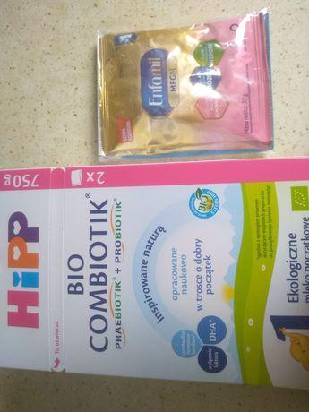 HiPP mleko początkowe+próbka NOWE