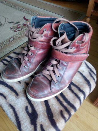 Жіночі осінні черевики-стікери40р