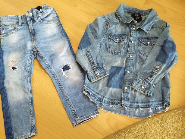 Продам рубашку та джинси фірмові, купляли закордоном