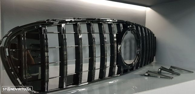 Grelha frontal MERCEDES GLC SUV (X253) ou GLC Coupe (C253) LOOK AMG GTR 2019