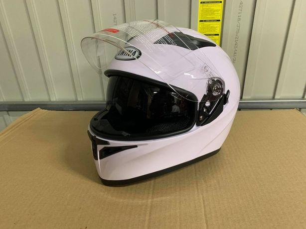 kask motocyklowy integralny awina biały BLENDA nowy fv wysyłka s l xl