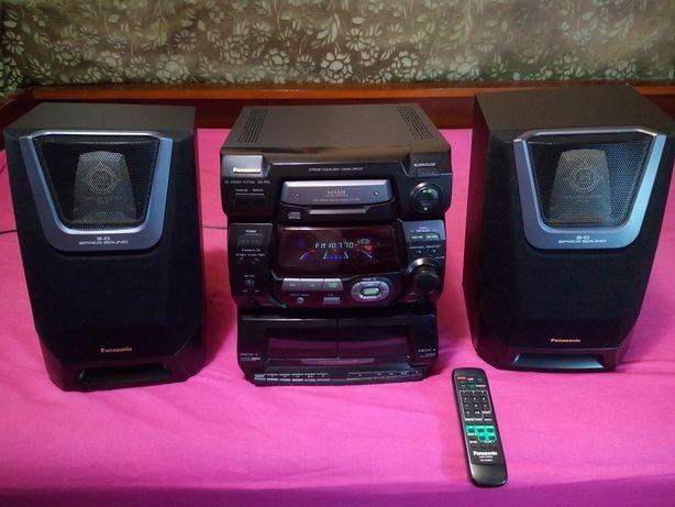 Panasonic SA-AK5 Муз. центр аудіосистема Радіо AUX Bluetooth компьютер