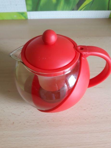 DUŻY Dzbanek do zaparzania herbaty, ziół