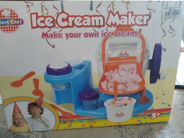 Prawdziwe lody Cream Maker Young Chef