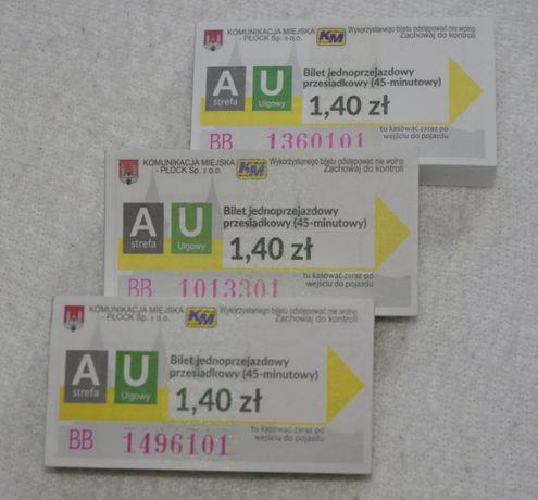 Bilety ulgowe KM Płock
