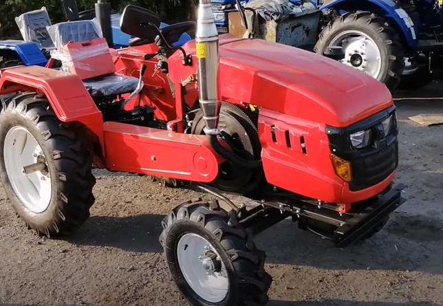 Трактор ЗУБР Т-245, 24 к.с, 3х точка + фреза 140см.  Мінітрактор 240