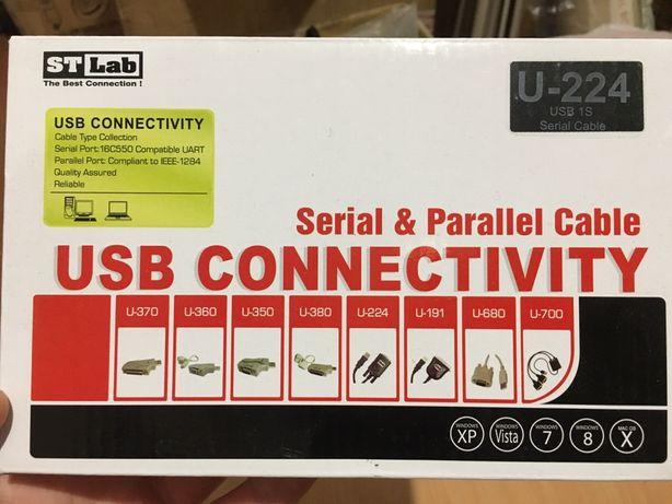 Адаптер USB COM STLab U-224: