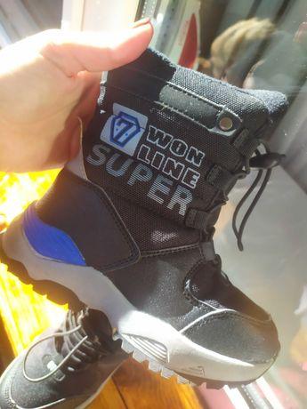 Зимние ботинки сапожки на мальчика