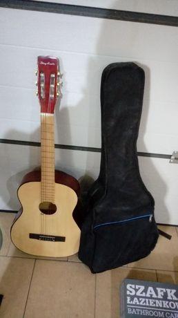 Gitara + pokrowiec + struny