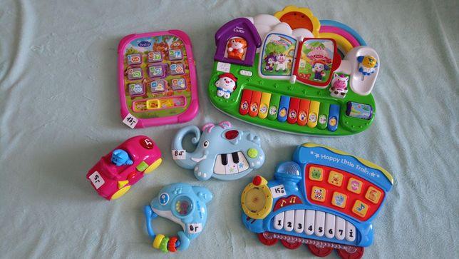 Zabawki niemowlęce grające