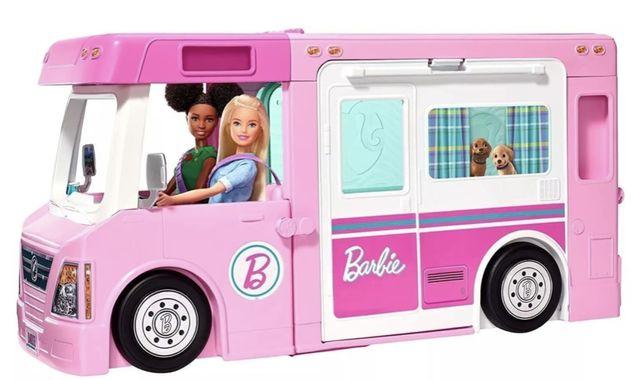 Nowy kamper 3w1 Barbie