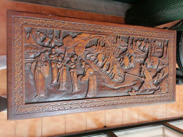 Arca/baú em madeira de cânfora