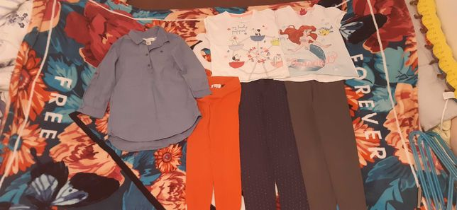 Ubranka dla dziewczynki komplet 116
