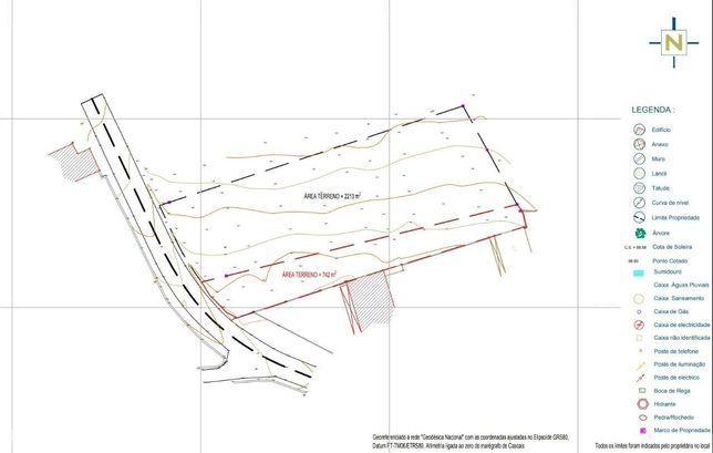 Terreno 50% construção