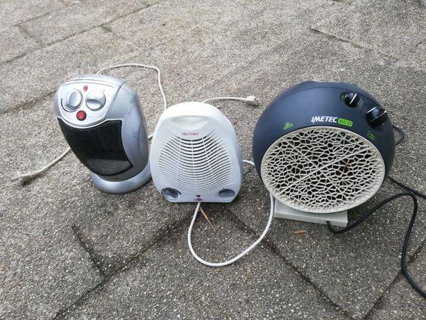 aquecedor a oleo, de parede para quarto de banho e termoventiladores
