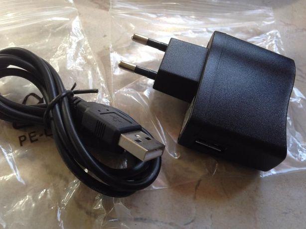 Sprzedam ładowarkę i kabel usb - micro usb nowy komplet