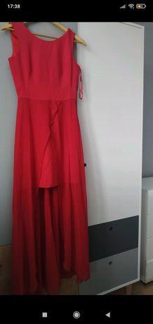 Suknia balowa czerwona