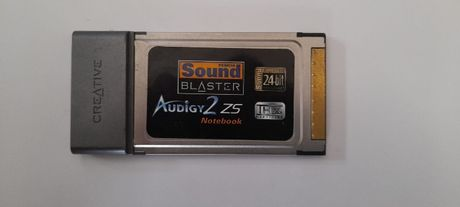 Creative PCMCIA Sound Blaster Audigy 2 ZS Notebook