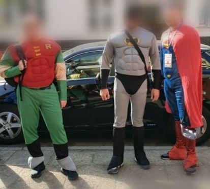 Strój karnawałowy , przebrania Robin,Batman,Superman