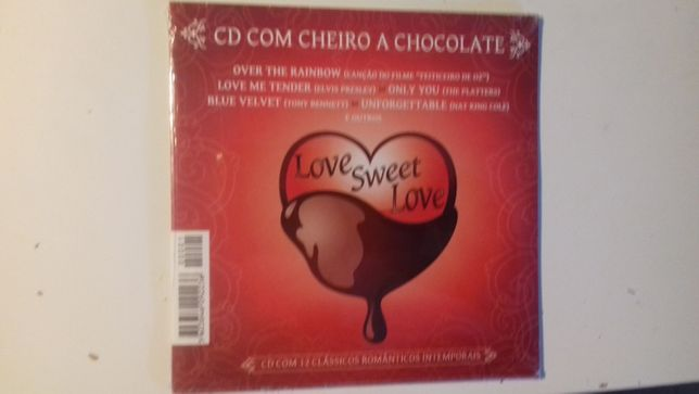 CD Original CD Com Cheiro a Chocolate