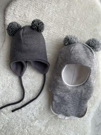 Зимняя шапка шлем ушанка самая теплая