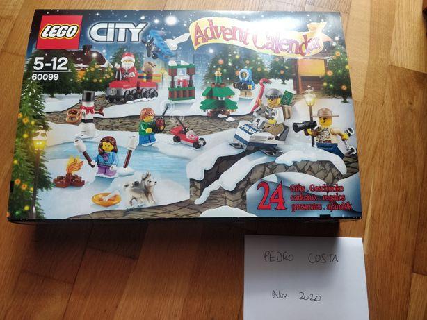 LEGO Calendário Advento 2824 e 60099