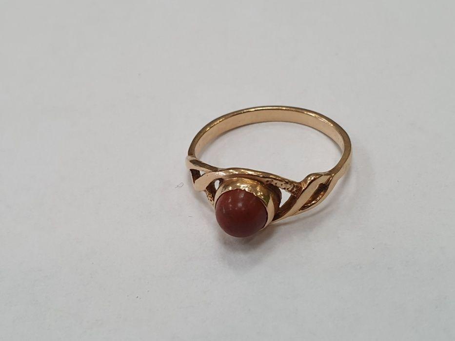 Klasyczny! Piękny złoty pierścionek damski/ 585/ 2.5 gram/ R13/ Gdynia Gdynia - image 1