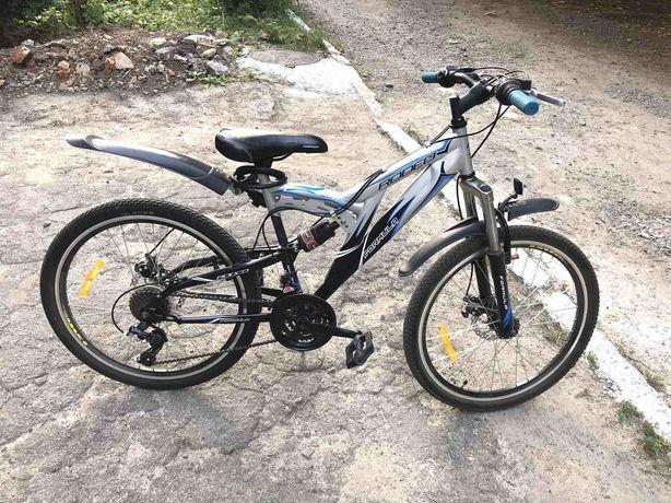 Велосипед подростковый колеса 24