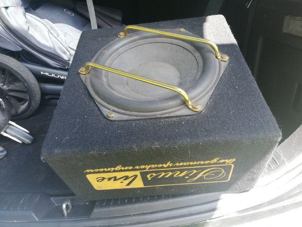Car Audio (wzmacniacz, tuba, przewody)