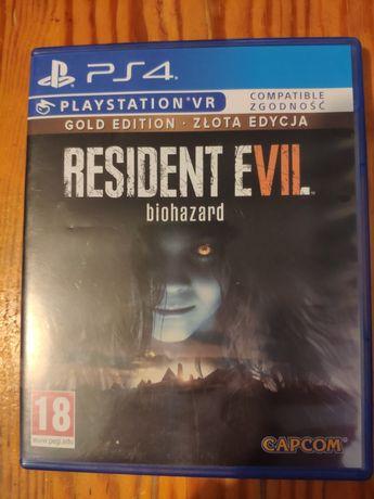 ps4 ps5 Resident Evil 7 Gold PL złota edycja ps 4 ps 5 playStation 4 5