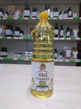 Olej rzepakowy spożywczy - butelki /pojemniki zwrotne/luzem