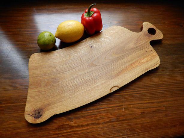 dębowa deska do krojenia, stylowy design