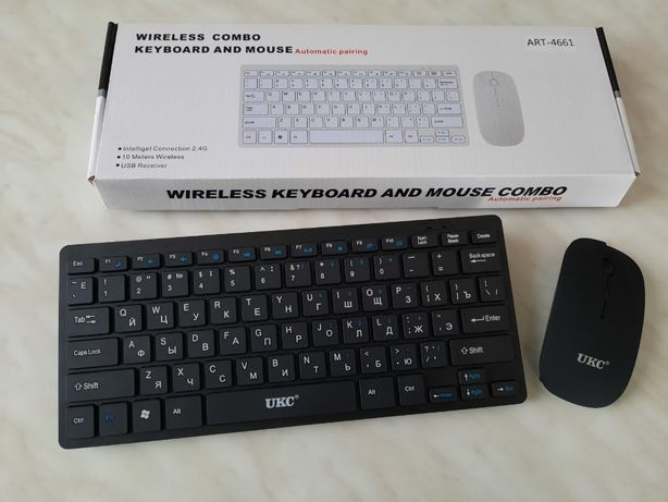Клавиатура и мышка беспроводная KEY ART- 901/4661 Комплект клава+ мишь
