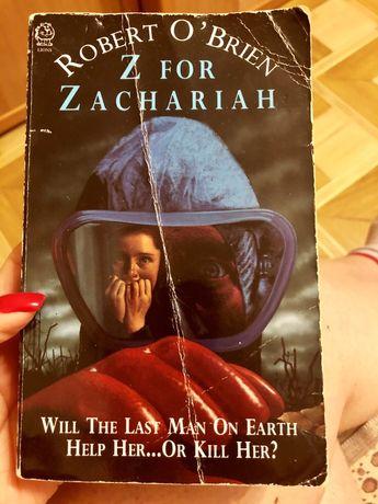 """Продам книгу Robert O'Brien """"Z for Zachariah"""""""