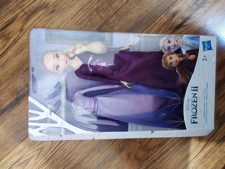 Disney Frozen Kraina Lodu 2 Lalka Elsa + Suknia zabawka dla dzieci