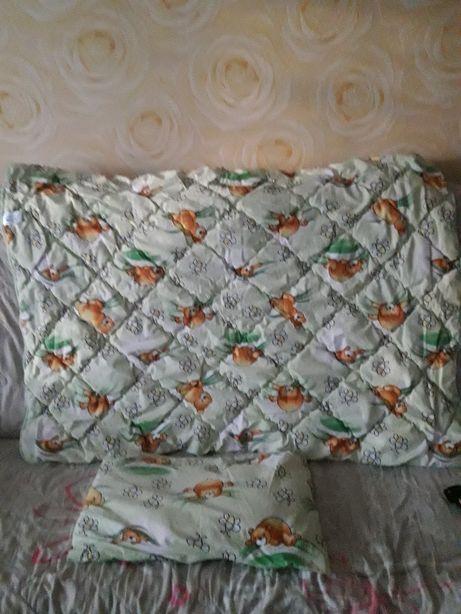 комплект одеяло+подушка