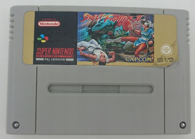 Gra Street Fighter FIGHTER 2 II super nintendo SNES PAL