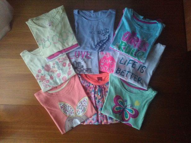 T-shirts de menina