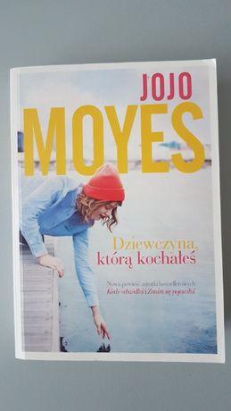 """Książka Jojo Moyes """"Dziewczyna, którą kochałeś"""""""