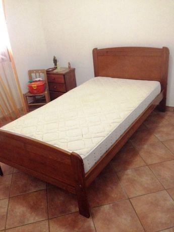 cama com colchão