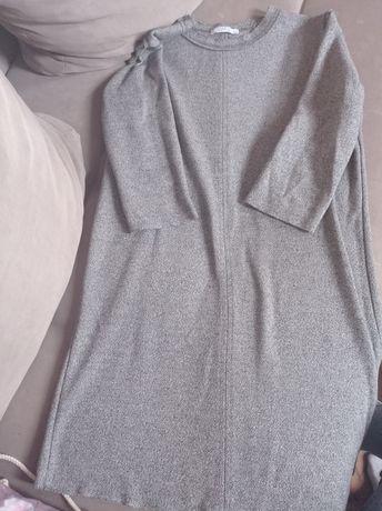 Sukienka tunika zara