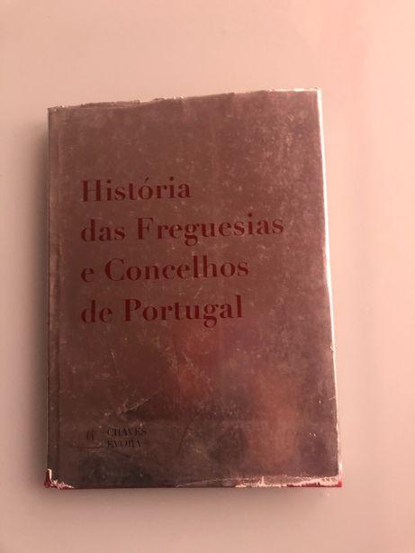 """Livro """"História das Freguesias e Concelhos de Portugal"""""""