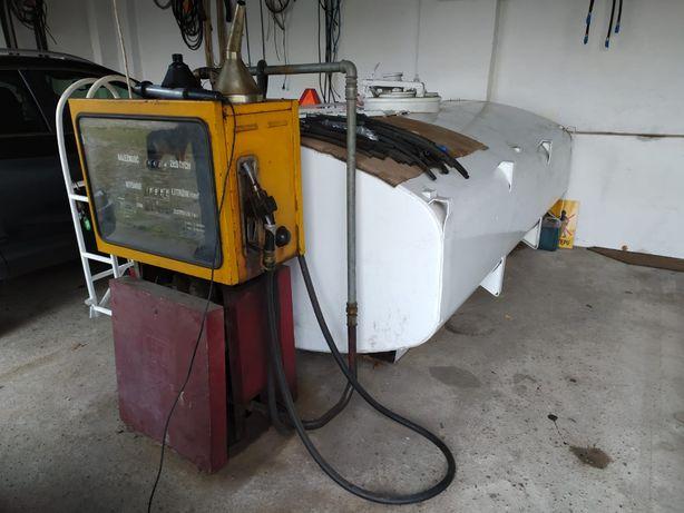 Zbiornik aluminiowy na paliwo z dystrybutorem 4,500 L