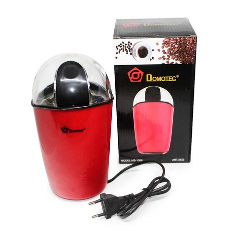 Кофемолка ножевая электрическая Domotec MS-1306 200 Вт 70 г