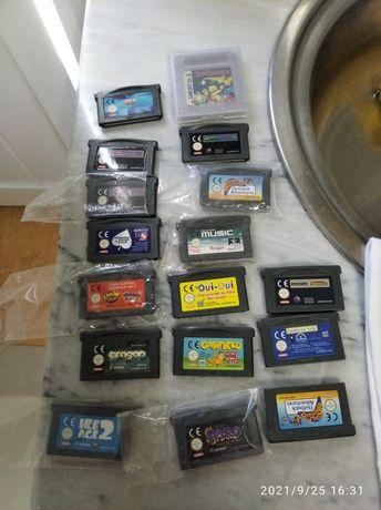 Jogos antigos game Boy e Nintendo e psp