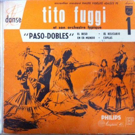 Passo-Dobles - Tito Fuggi - EP Vinil