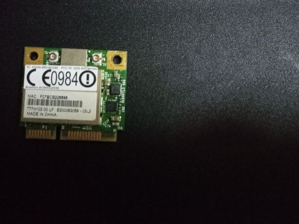 Wi-Fi модуль mini PCI-Ex Half Size Broadcom BCM943225HM