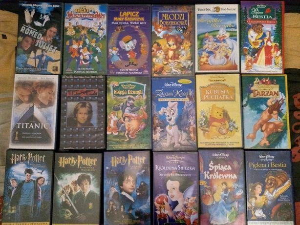 Kasety z filmami VHS (oryginalne)