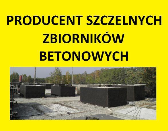 zbiorniki betonowe betonowy na szambo szamba deszczówkę 3,5,6,12,14m3