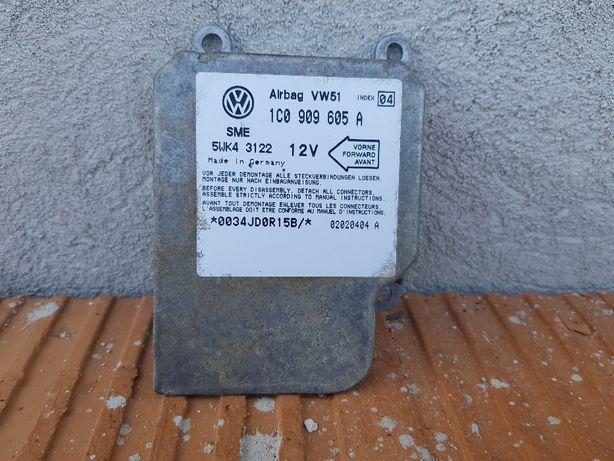 Moduł sensor airbag VW GOLF IV 4/BORA 1C0.909.605.A